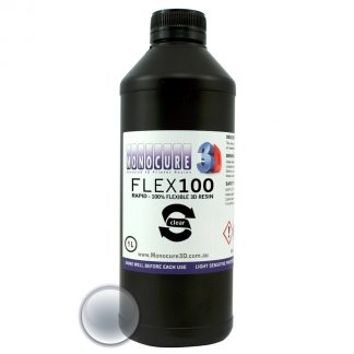 Monocure 3D Rapid FLEX100 Resin - 1 liter - Clear