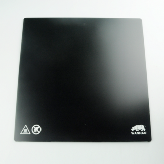 Wanhao Duplicator 9 Mark 2 Carbon Crystal Glass Plate 425 x 425 mm