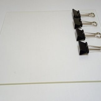 Wanhao Duplicator i3 Glass plate with clips