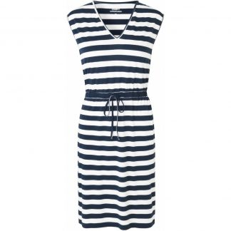 Comfy Copenhagen - Kjole, Shape Of You - Navy/White Stripe