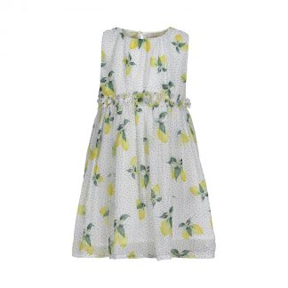 Creamie - Dress Lemon Chiffon (840204) - Cloud