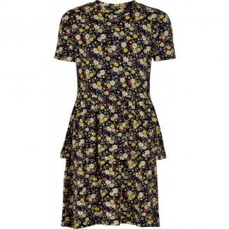 THE NEW - Orchid Dress SS (TN2780) - Black Iris