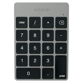 Satechi bluetooth keypad tastatur med tal, Space Grey