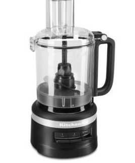 KitchenAid 9 cup foodprocessor 2,1 liter mat sort