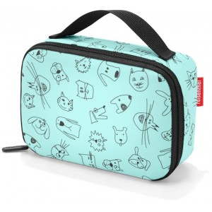 Reisenthel Thermocase Kids Cats And Dogs Mint - Køletaske