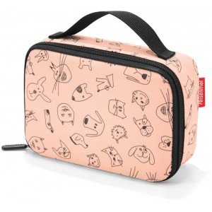 Reisenthel Thermocase Kids Cats And Dogs Rose - Køletaske