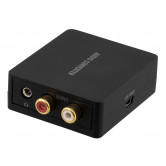 DELTACO audio converter from digital to analog with 3,5mm, sorrt
