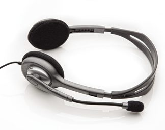 H110 Stereo Headset, Grey