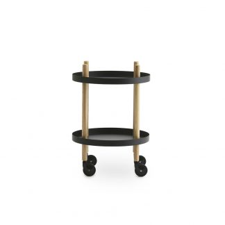 Block Table Ø45 Black - Normann Copenhagen