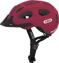 Abus Youn-I Ace Cherry Red med LED lys